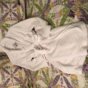 Ulta white plush robe